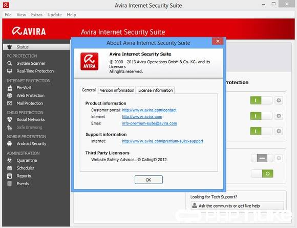 Avira AntiVir Premium Security Suite | PCWorld