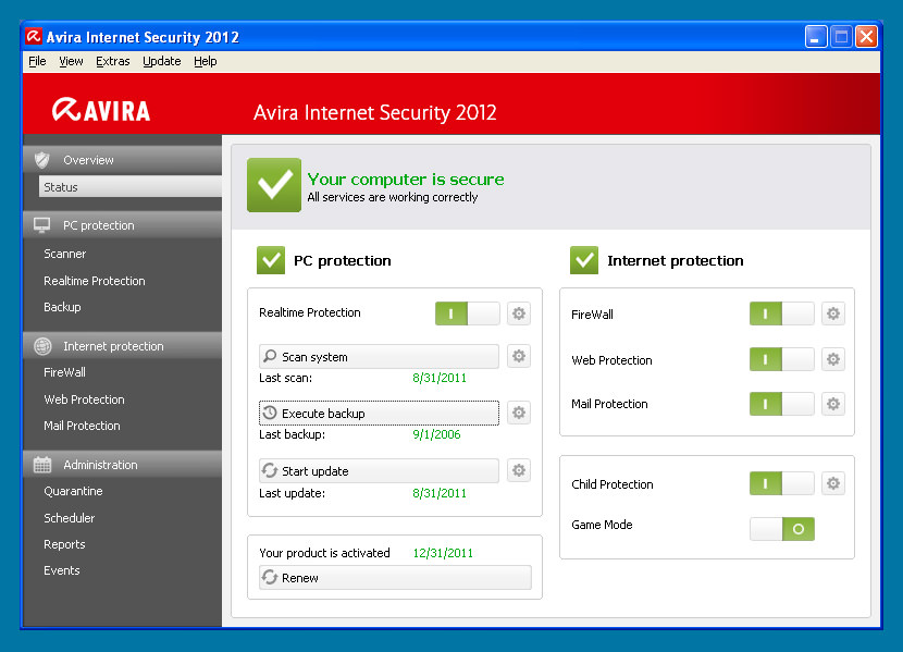Avira Security Suite 2018 Review