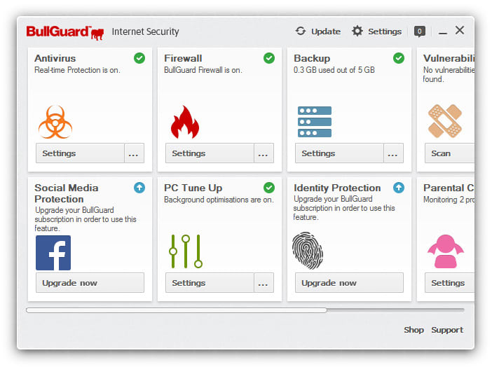 Bullguard Internet Security 2018 key & Trial Free Download