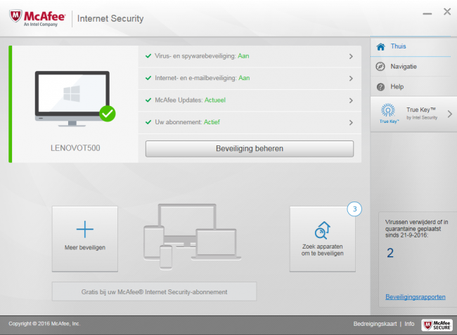 McAfee Internet Security 2018 Review