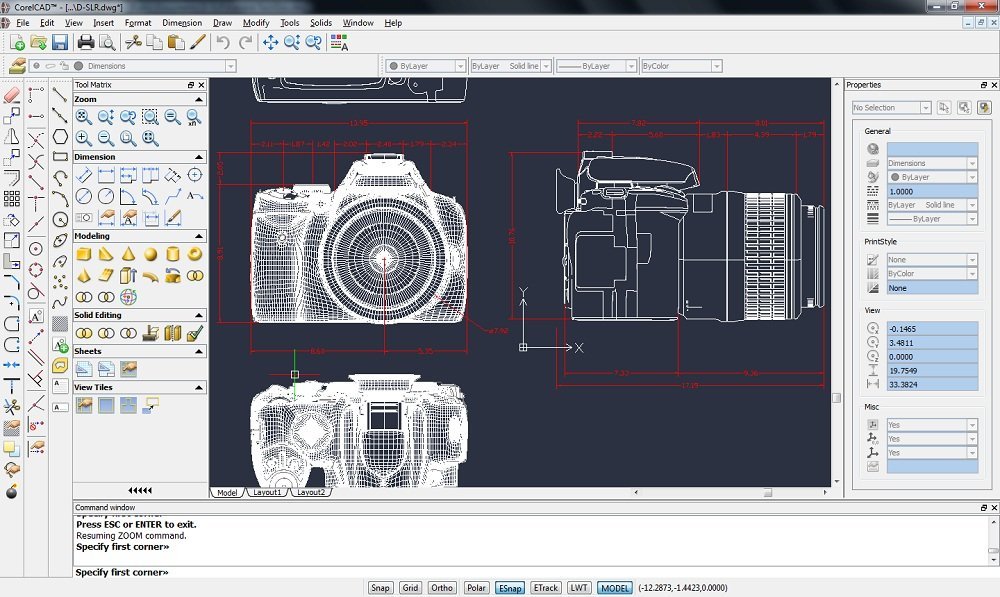 CorelCAD 2018 Review For Windows MAC Full Version