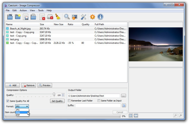 Caesium Image Compressor 2018 Review For Windows MAC