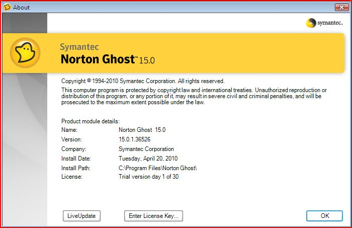 Norton Ghost 15 Crack with Serial Key 100% Working
