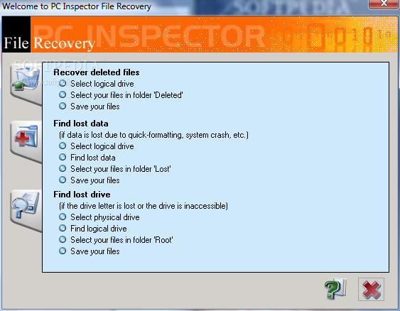 PC INSPECTOR File Recovery 2018 Free Download For Windows + MAC