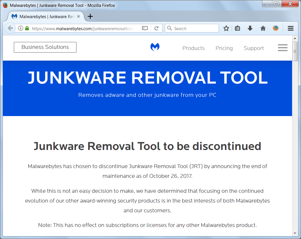 Junkware Removal Tool 2018 Review Free Download For Windows
