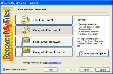 Recover My Files V6 License Key Crack Full Version
