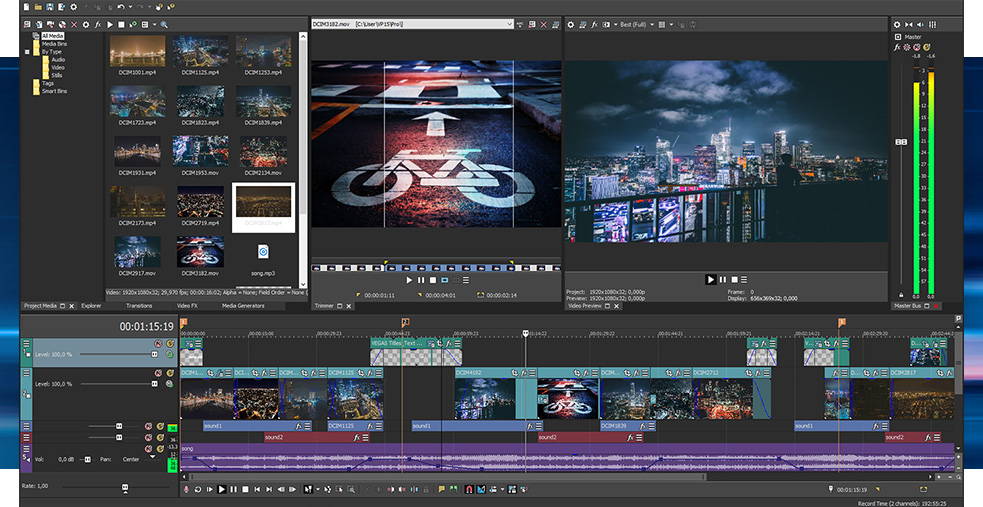 Sony Vegas Pro 17.0.421 Crack 2020 + Keygen Download