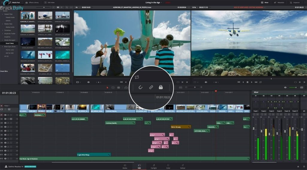 DaVinci Resolve Studio 16.2.4.16 Crack + Activation Key 2020